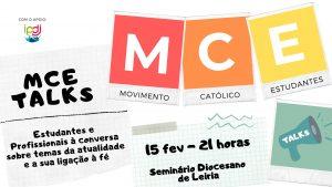 MCE TALKS @ Seminário de Leiria-Fátima